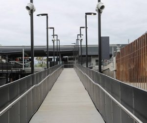 How project perforation can support handrail installations